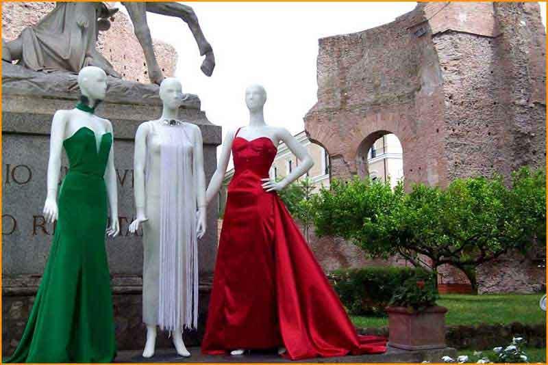 Eventi presentazione stilista abiti